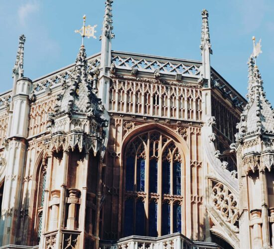 Westminster Abbey tour with Let me show you London - Skyline of Westminster Abbey with detailed towers and facade
