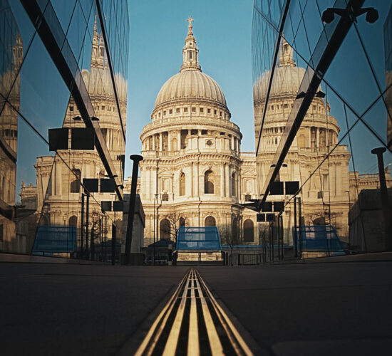 St Paul's Cathedral Tour with Let me show you London - St Paul's Cathedral reflected in One New Change