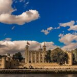 View of the Tower of London from across the River Thames