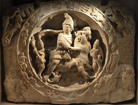 Frieze of Mithras Slaying the Bull